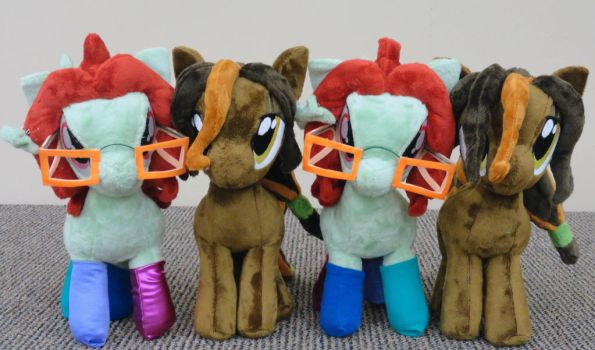 Oc Pony Plushies by Cryptic-Enigma