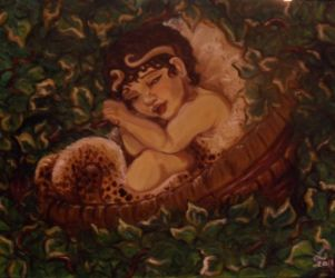 The Infant Dionysos by templeofapollon
