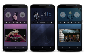 Scope's Custom Homescreen Design V2 by Scope10