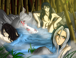 Hot Spring by RuuRuu-Chan