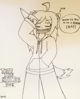 Jeff the Killer Dog by ShadAmyfangirl129