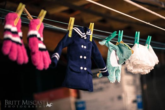 Drying Clothes by brittmiscast