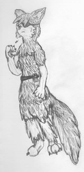 Patched Wolf Anthro WIP by Le-Smittee