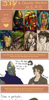 Character obsession meme by Atey