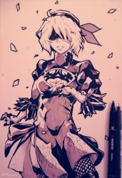 NieR Automata - Spring (Traditional) by 7Repose