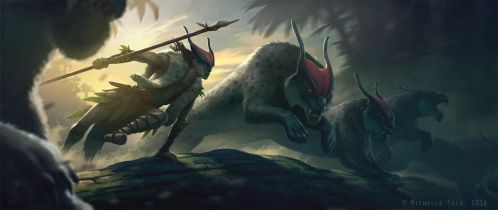 Thrill of the Hunt by Manweri
