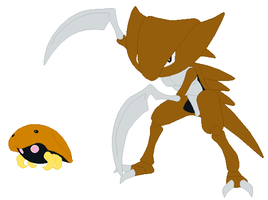 Kabuto and Kabutops Base