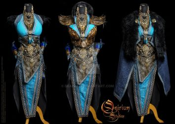 Antique female Armor set by Deakath
