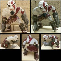 Kratos The Ghost of Sparta sculpt by TweedLD