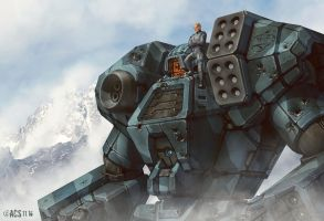 Battletech - Kodiak by Shimmering-Sword
