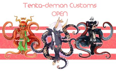 Custom Tenta-demons - OPEN! by Blackberreh-Adopts