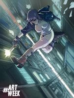 Ghost in the Shell Color by Fpeniche