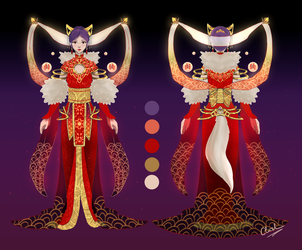 Chinese New Year Dress [Contest Entry] by Chiichen