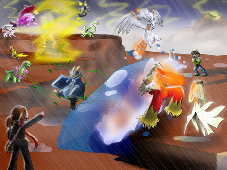 PComm - The Final Battle by Chocolatewoosh