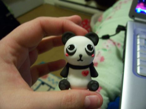 Panda Test Scuplt by Fwup-Baby