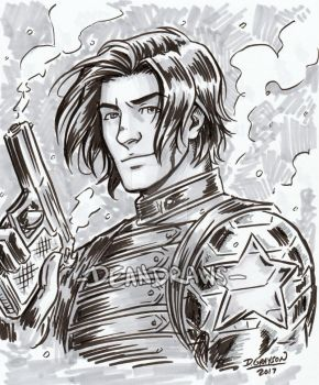 Auction closed - Bucky by DeanGrayson