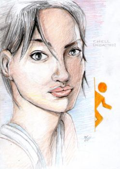 Chell Practice by PsuC
