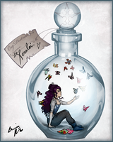 Xeralei in a Bottle by Snowy-Dragoness