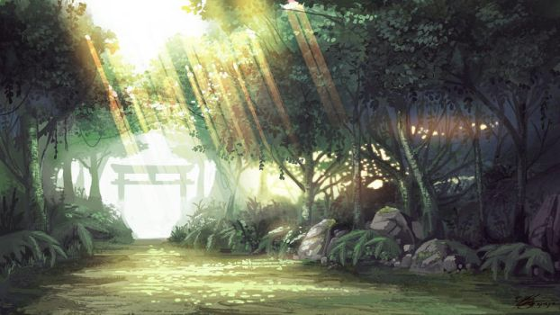 Forest Path by UNGDI-SEA