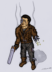 Terminator, Colored by Cymoth
