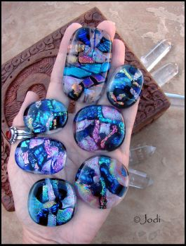 Fused glass magic by andromeda