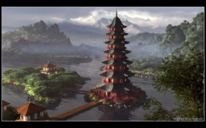 The Great Pagoda by 00AngelicDevil00