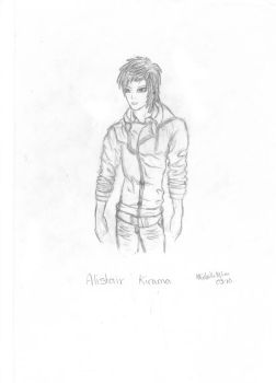 OC: Alistair Kirama by milkywaysora