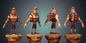 3d Diver by Elwany