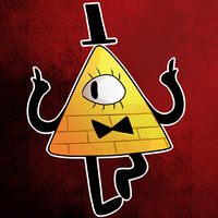 Bill Cipher by Dark-Tiramisu