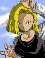 Android 18 by Tturner5