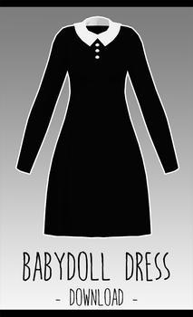 Baby Doll Dress [ DOWNLOAD  ] by Avant-Garde3D
