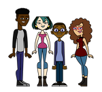 Gwemeron, Terrance, and Alessia (Vector) by Terrance-Hearts-Art