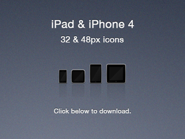 iOS Device Icons by olvrwl