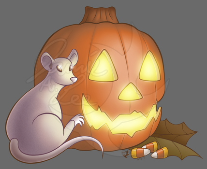 Ratolantern [PRINTS AVAILABLE] by Jammerlee