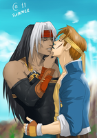 Wild Arms 2 - Brad and Billy. by Autumn-Sacura