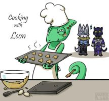 Starfox- Cooking with Leon by karnalux