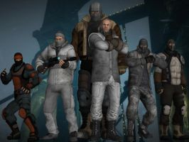 Batman: Arkham Origins - City Thugs by DaBiggieK