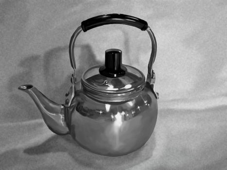 Kettle Painting by AaronKTJ