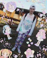 Complete outfit : fairy Kei boy style by Candy-Witch