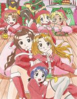 Love Hina Christmas by iloveramen88