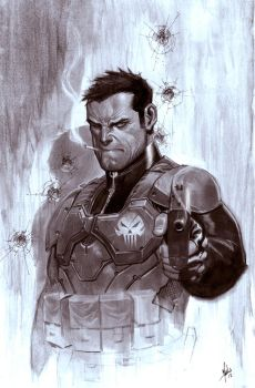 Punisher to benefit The Philippine Red Cross by ZurdoM