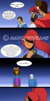 [Undertale] Detour pg 29 by Maxx2DXtreame