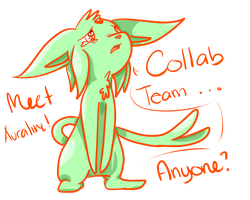 PMD Unity Team Collab Chosen - Auraline by Penny-Forest