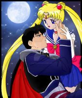 Sailor Moon + Endymion COLLAB by chaotic-chick
