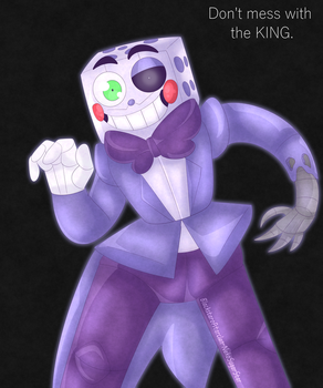 Five nights at Fandoms Withered King Dice by NekoSugarStar