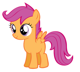 Scootaloo Vector by Blaccuweather