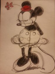Old Fashioned Minnie Mouse by Hands-of-a-Pirate