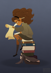 Hermione Granger by mintycanoodles