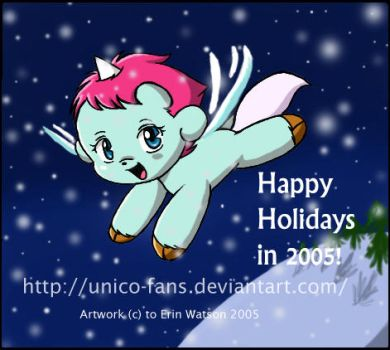 Happy Holidays from Unico-fans by unico-fans