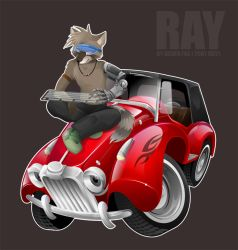 Ray on MG TD by Silverfox5213